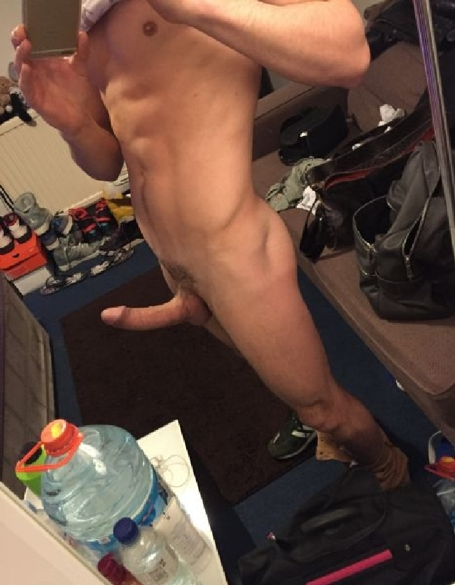 Big Curved Cock